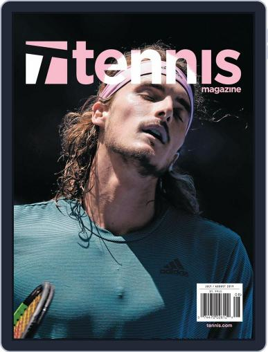 Tennis (digital) July 1st, 2019 Issue Cover
