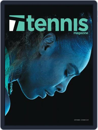 Tennis (digital) September 1st, 2019 Issue Cover