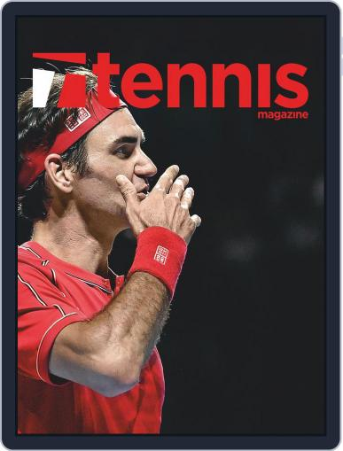 Tennis (digital) January 1st, 2020 Issue Cover