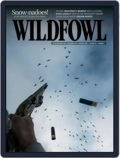 Wildfowl December 1st, 2019 Digital Back Issue Cover
