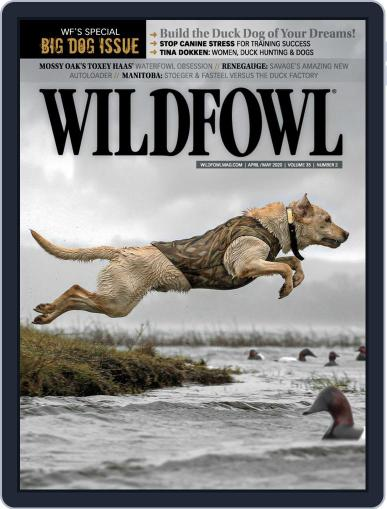 Wildfowl April 1st, 2020 Digital Back Issue Cover