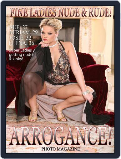 Arrogance Photo August 25th, 2017 Digital Back Issue Cover