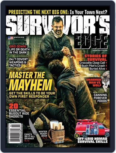 Survivor's Edge (Digital) September 10th, 2018 Issue Cover