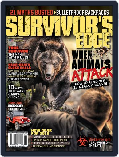 Survivor's Edge (Digital) December 10th, 2018 Issue Cover