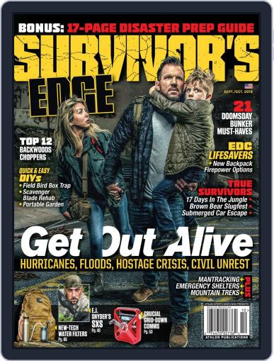 Survivor's Edge (Digital) September 1st, 2019 Issue Cover