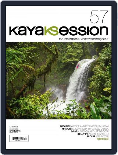 Kayak Session March 15th, 2016 Digital Back Issue Cover