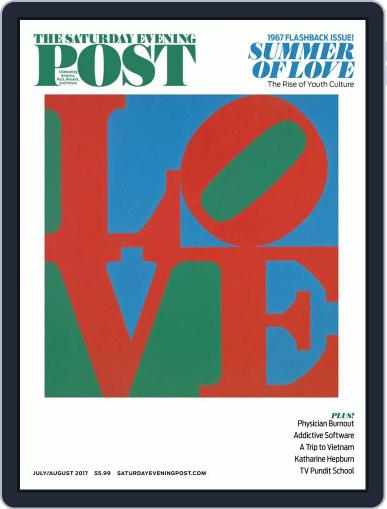 The Saturday Evening Post July 1st, 2017 Digital Back Issue Cover