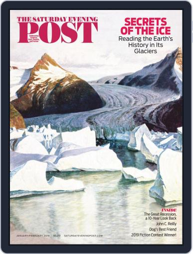 The Saturday Evening Post January 1st, 2019 Digital Back Issue Cover