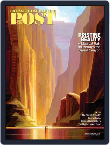 The Saturday Evening Post March 1st, 2019 Digital Back Issue Cover