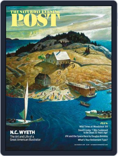 The Saturday Evening Post July 1st, 2019 Digital Back Issue Cover