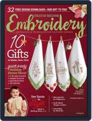 CREATIVE MACHINE EMBROIDERY (Digital) Subscription November 1st, 2017 Issue