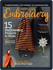 CREATIVE MACHINE EMBROIDERY (Digital) Subscription September 1st, 2018 Issue