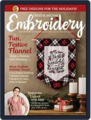 CREATIVE MACHINE EMBROIDERY (Digital) Subscription September 1st, 2019 Issue