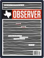 The Texas Observer (Digital) Subscription April 1st, 2018 Issue