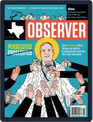 The Texas Observer (Digital) Subscription October 1st, 2018 Issue