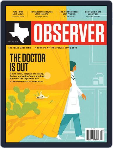 The Texas Observer (Digital) November 1st, 2019 Issue Cover