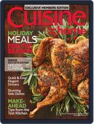 Cuisine at home (Digital) Subscription November 1st, 2017 Issue