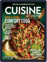 Cuisine at home (Digital) Subscription September 1st, 2018 Issue