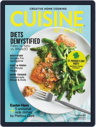 Cuisine at home (Digital) March 1st, 2019 Issue Cover