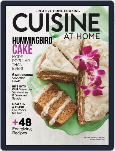 Cuisine at home (Digital) May 1st, 2019 Issue Cover