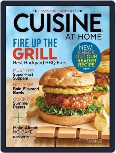 Cuisine at home (Digital) July 1st, 2019 Issue Cover