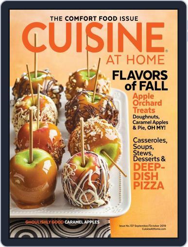 Cuisine at home (Digital) September 1st, 2019 Issue Cover