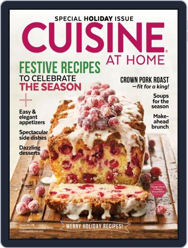 Cuisine at home (Digital) November 1st, 2019 Issue Cover