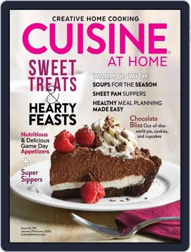 Cuisine at home (Digital) January 1st, 2020 Issue Cover