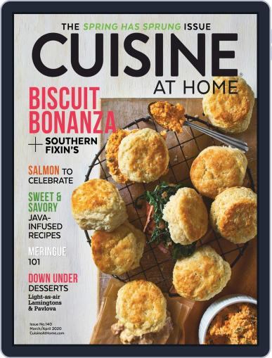 Cuisine at home (Digital) March 1st, 2020 Issue Cover
