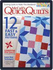 QUICK QUILTS (Digital) Subscription April 1st, 2017 Issue
