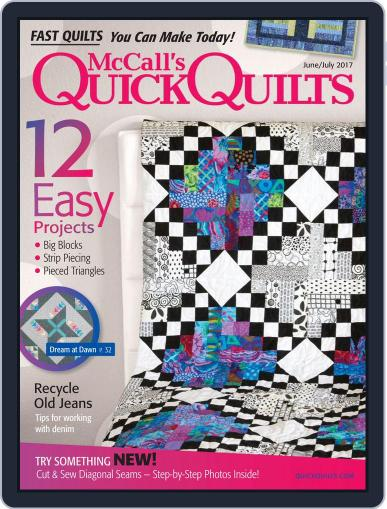 QUICK QUILTS (Digital) June 1st, 2017 Issue Cover