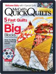 QUICK QUILTS (Digital) Subscription August 1st, 2017 Issue