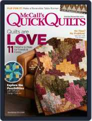 QUICK QUILTS (Digital) Subscription October 1st, 2017 Issue