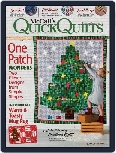 QUICK QUILTS (Digital) December 1st, 2017 Issue Cover
