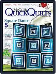 QUICK QUILTS (Digital) Subscription February 1st, 2018 Issue