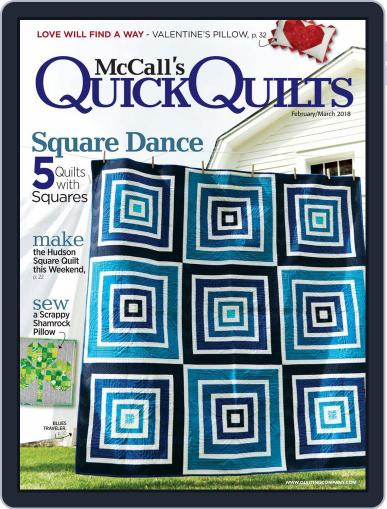 QUICK QUILTS (Digital) February 1st, 2018 Issue Cover