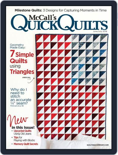 QUICK QUILTS (Digital) June 1st, 2018 Issue Cover