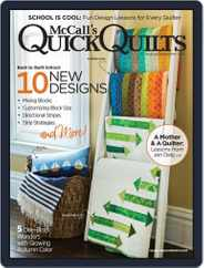 QUICK QUILTS (Digital) Subscription August 1st, 2018 Issue