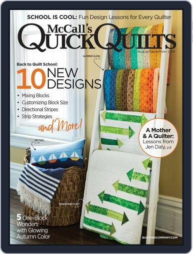 QUICK QUILTS (Digital) August 1st, 2018 Issue Cover