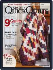 QUICK QUILTS (Digital) Subscription October 1st, 2018 Issue