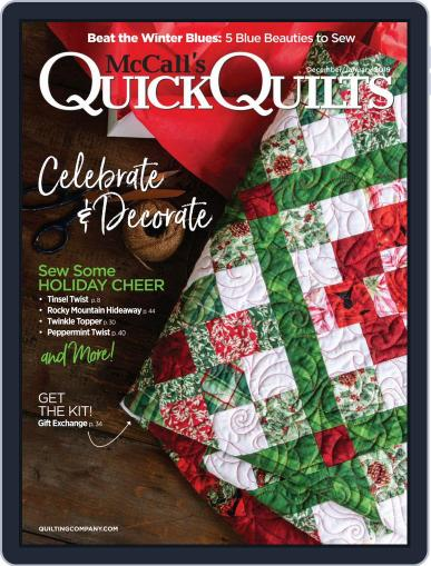 QUICK QUILTS (Digital) December 1st, 2018 Issue Cover