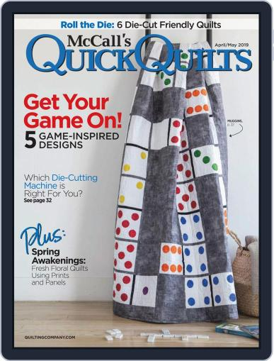 QUICK QUILTS (Digital) April 1st, 2019 Issue Cover