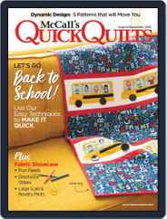 QUICK QUILTS (Digital) Subscription August 1st, 2019 Issue