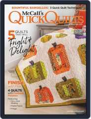 QUICK QUILTS (Digital) Subscription October 1st, 2019 Issue