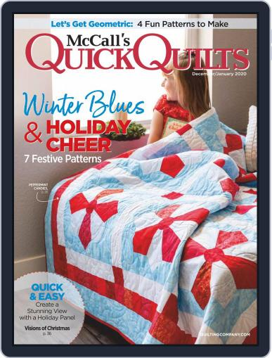 QUICK QUILTS (Digital) December 1st, 2019 Issue Cover