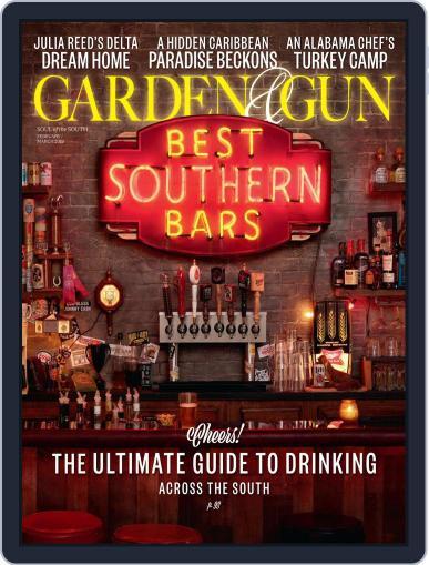 Garden & Gun (Digital) February 1st, 2019 Issue Cover