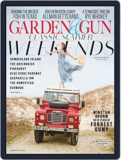 Garden & Gun (Digital) June 1st, 2019 Issue Cover