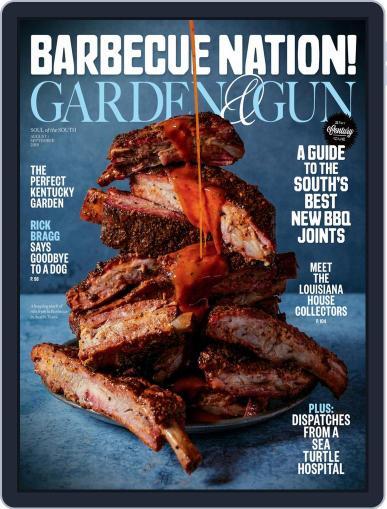 Garden & Gun (Digital) August 1st, 2019 Issue Cover