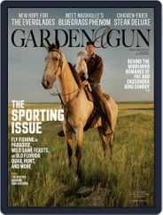 Garden & Gun (Digital) Subscription October 1st, 2019 Issue