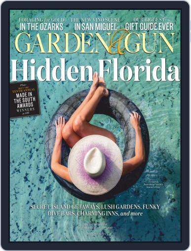 Garden & Gun (Digital) December 1st, 2019 Issue Cover